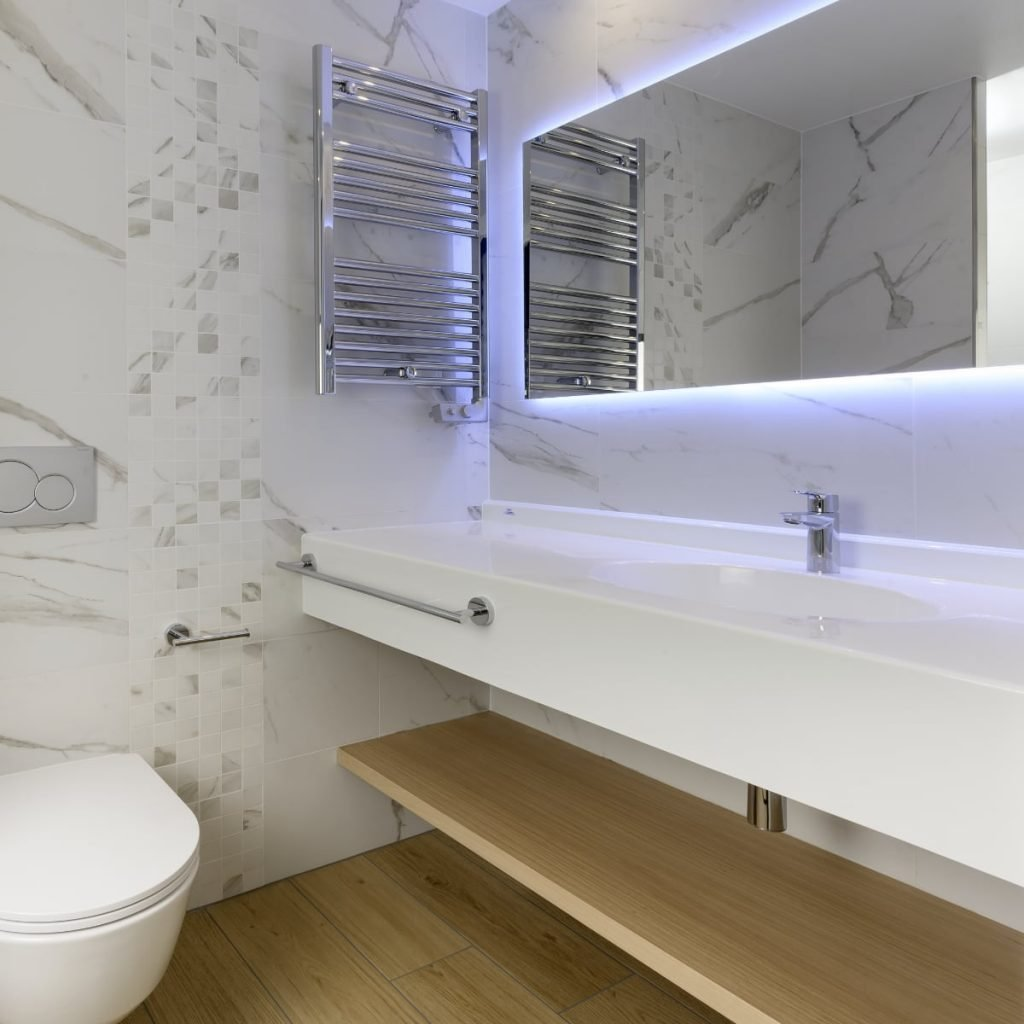 Prefabricated bathrooms